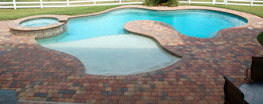 swimming pool design - Beach Entry Swimming Pool Designs